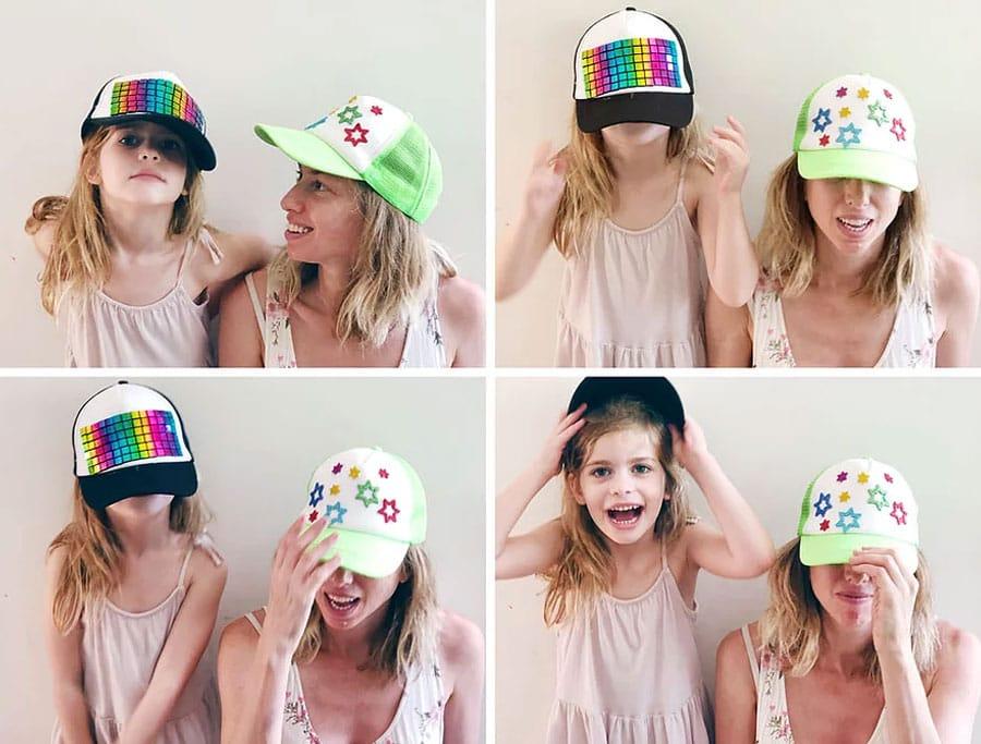 קייטנת אמא, יום אופנה - כובע מצחייה מעוצב