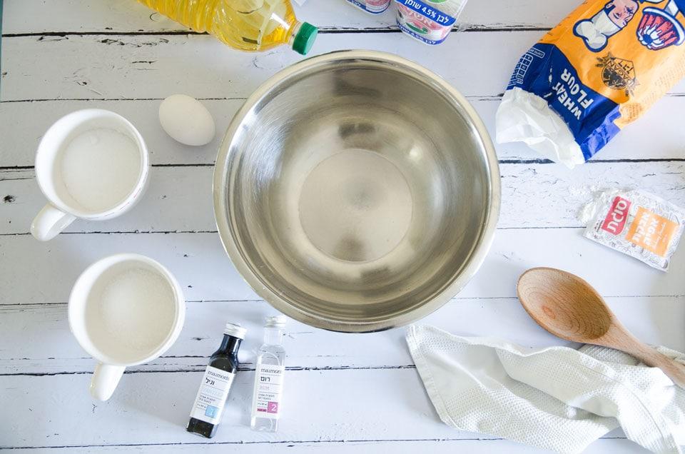 מה צריך להכנת סופגניות בבית