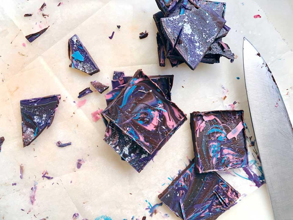 שוקולד גלקסיה- פעילות עם הילדים קייטנת אמא, יום חלל