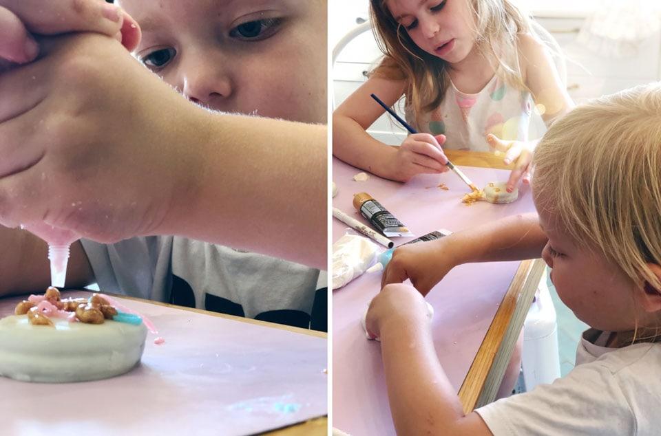 סוכרייה על מקל חד קרן- פעילות עם הילדים , קייטנת אמא