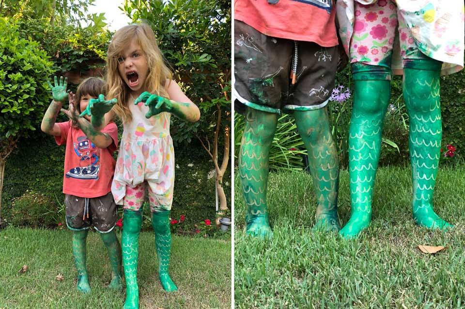 הילדים הופכים לדינוזאורים בעצמם