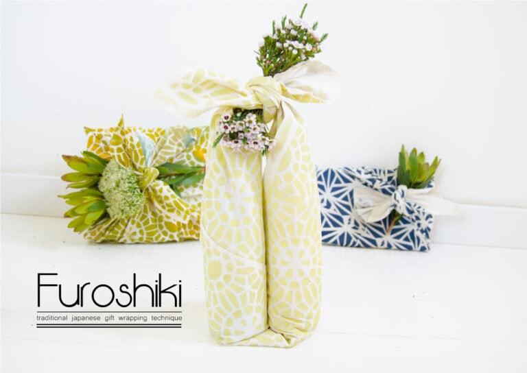 פורושיקי טכניקות אריזה יפנית עם בד