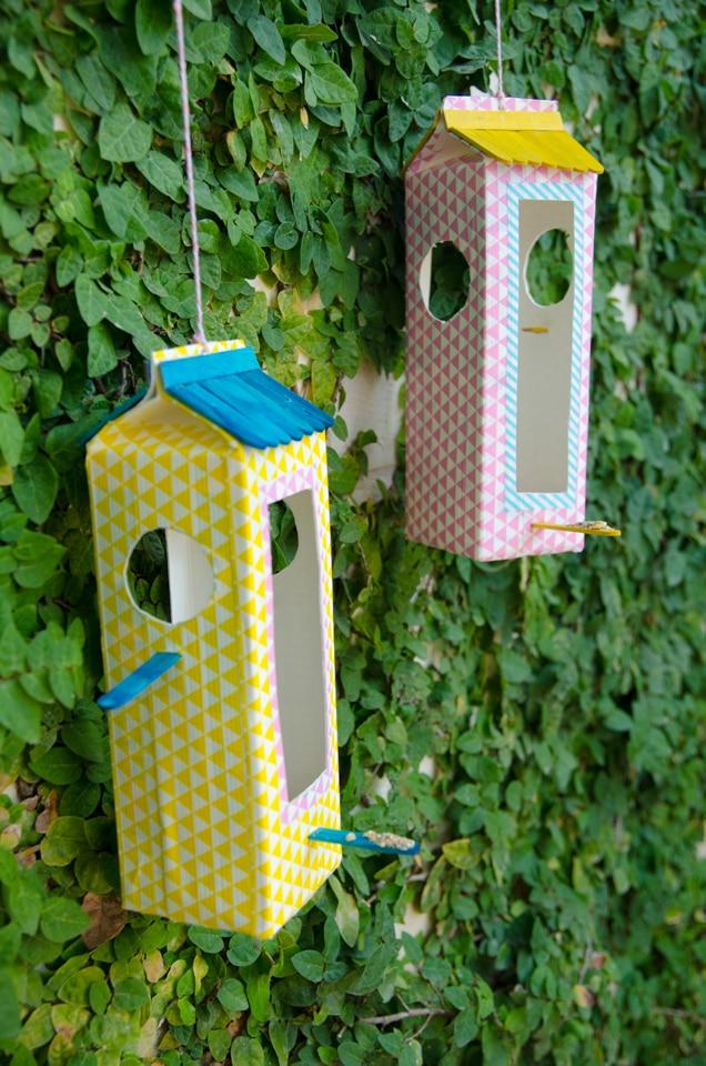 פעילות עם הילדים מעמד האכלת ציפורים