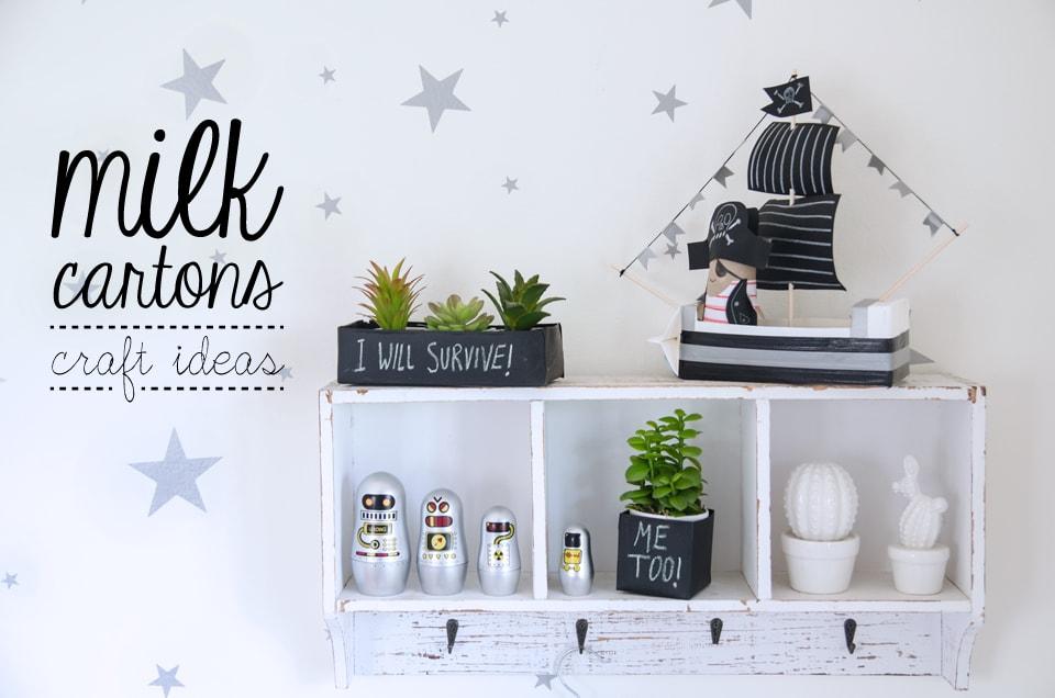 milk carton craft ideas