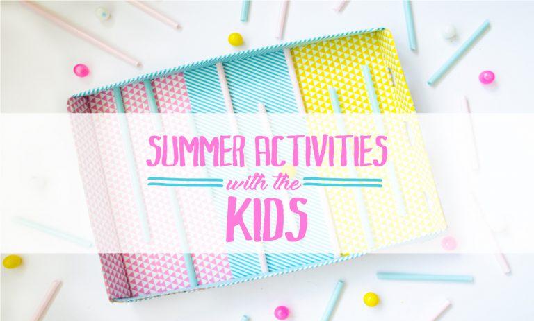 רעיונות לפעילות קיץ עם הילדים מקשים