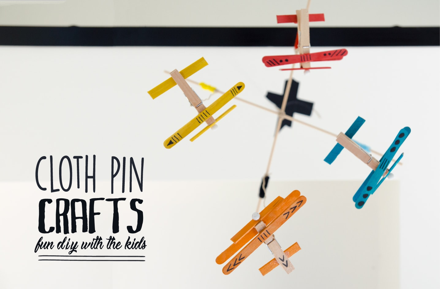 cloth pin crafts with kids