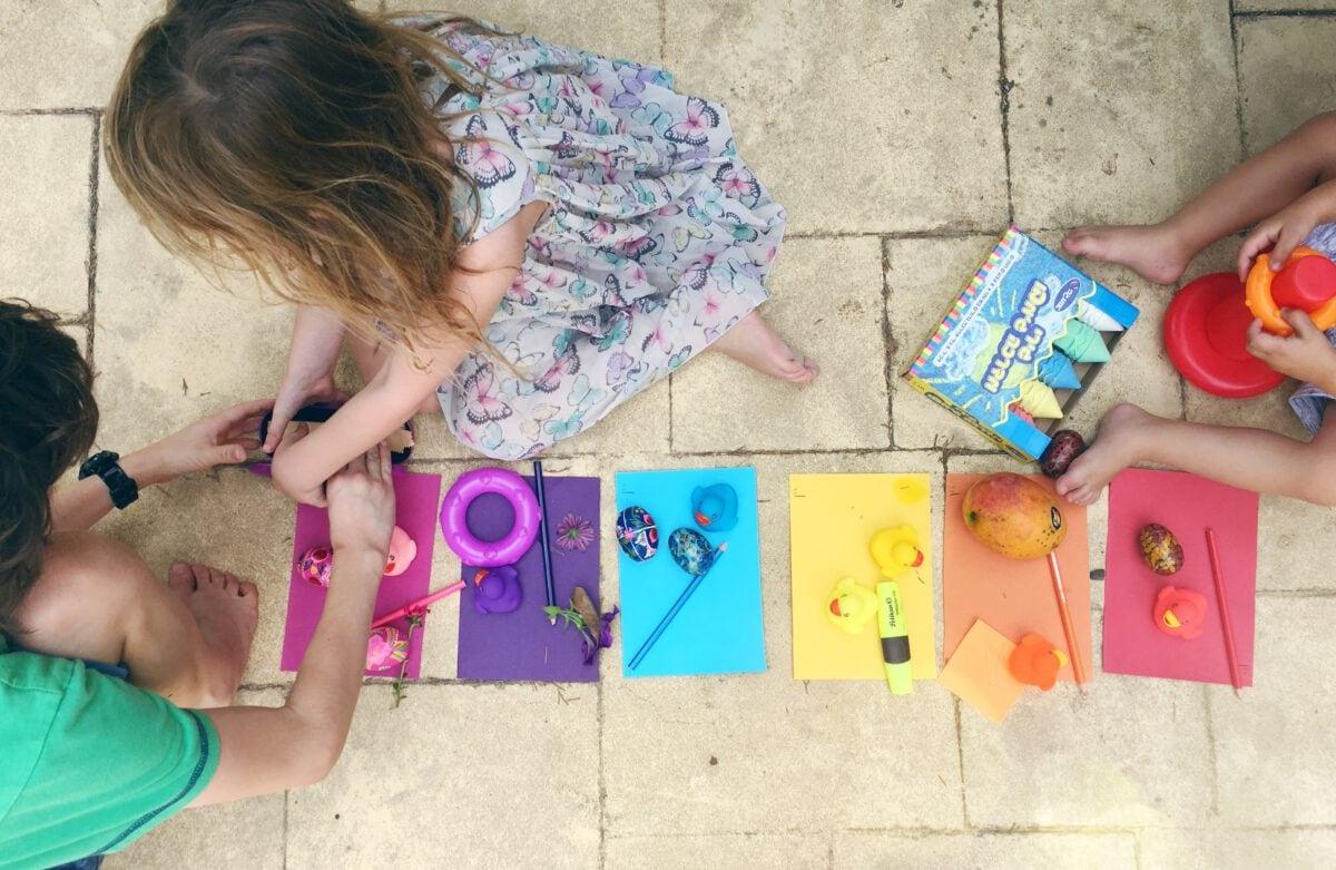לוטו צבעים- פעילות עם הילדים