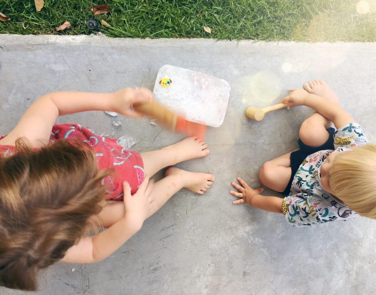 הדרכה להכנת אוצר קפוא, פעילות עם הילדים לקיץ