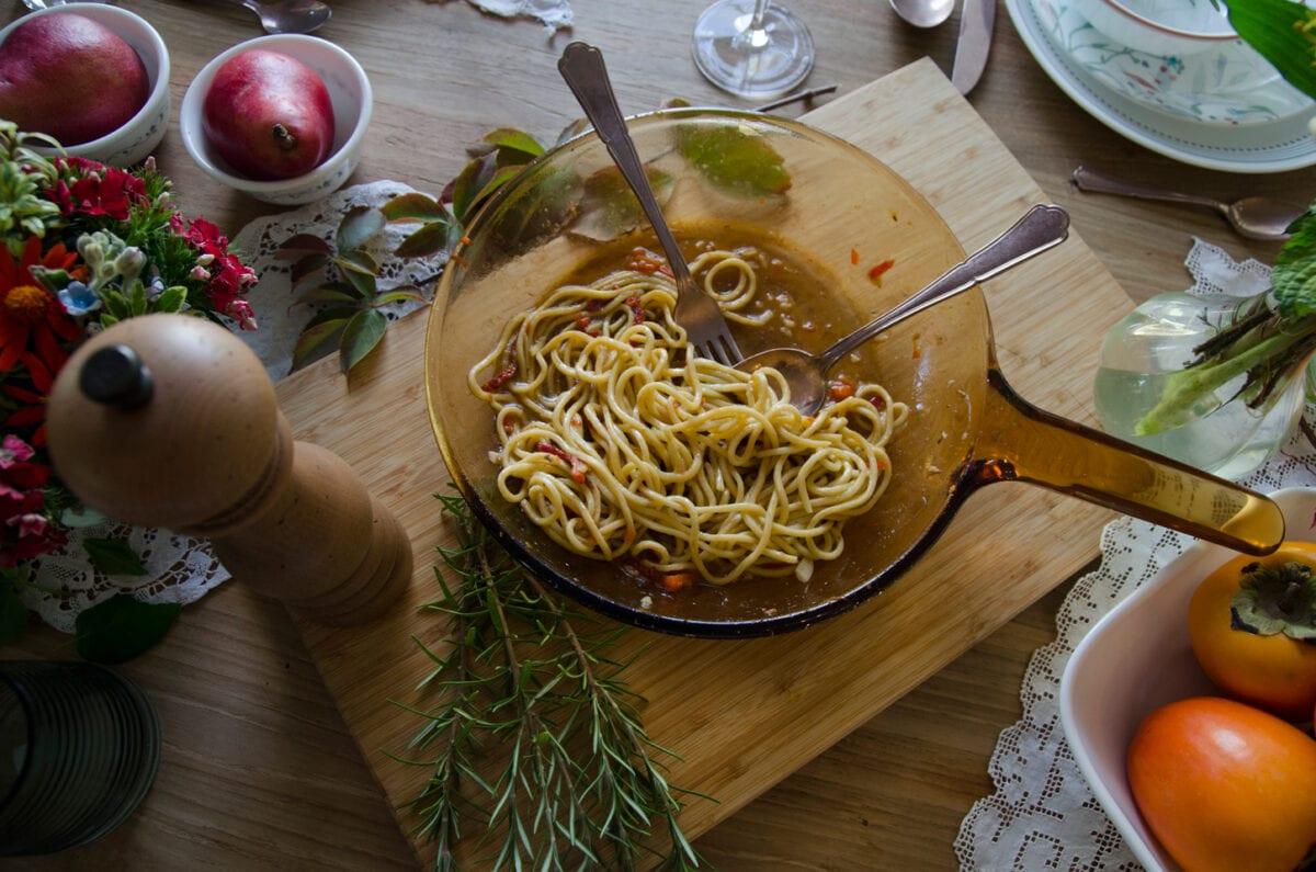 ארוחת ערב חורפית עם המתכונים של מסימיליאנו די מתאו- מאסטר שף פסטה עם אנשובי