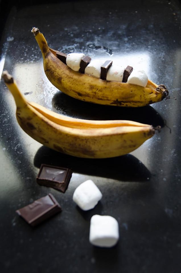 הדרכה להכנת סמורס בבננה