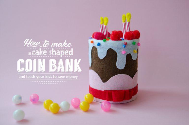 איך ללמד ילדים לחסוך וליצור קופה בצורת עוגה